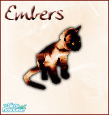 Sims 1 — Embers Cat by BloodMaple —