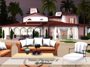 Sims 3 — Villa Portugal 2 by Pralinesims — EP's required: World Adventures Ambitions Late Night Generations Pets Showtime