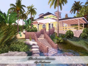 Sims 3 — Bahama Mama by Pralinesims — EP's required: World Adventures Ambitions Late Night Generations Pets Showtime