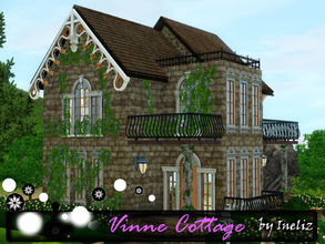 Sims 3 — Vinne Cottage by Ineliz — Summer time is right around the corner, and if your sims need a perfect little place