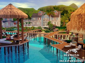Sims 3 — Diamond of Isla Paradiso Resort by ayyuff — This is a beautiful and tropical beach resort in Island Paradise. It