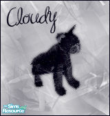 Sims 1 — Cloudy Cat by BloodMaple —