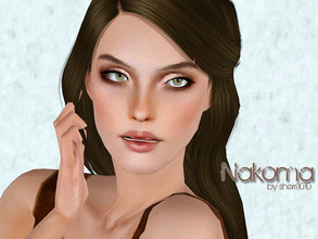 Sims 3 — Nakoma by sherri10102 — Nakoma is of mixed ethnicity - Cherokee being one half of the blood running in her
