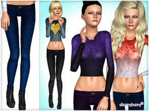 Sims 3 — Cold Days - Clothing set by CherryBerrySim — Clothing set for YA/A female sims to keep them warm and cozy during