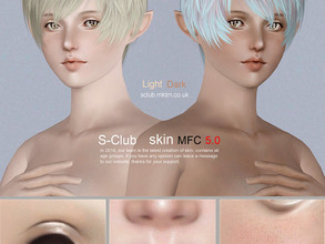 Sims 3 — S-Club Skin MFC5 non default by S-Club — Skintone for you all age, enjoy.
