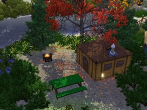 Sims 3 — Cooter's Pond Campground... by kalamitykt — Bring your tent or sleeping bags and camp out at Limestone Pond