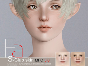Sims 3 — s-club skin mfc5 default by S-Club — Skintones mfc5 Default Replacement.