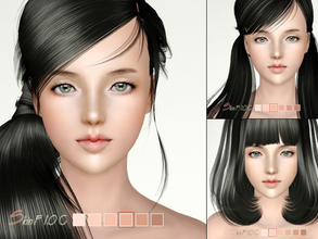 Sims 3 — S-Club ts3 skin default F1.0C by S-Club — Skintones default replacement Female1.0C