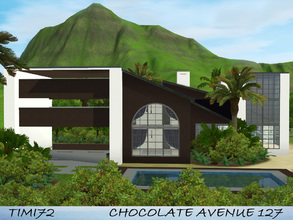 Sims 3 — Chocolate Avenue 127. by timi722 — This modern home is elegant and comfortable at the same time, for everyone