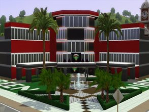 Sims 3 — Green Diamond Hotel Cassino  by chuvadeprata2 — This luxor Green Diamond Hotel Casino (by chuvadeprat - Facebook