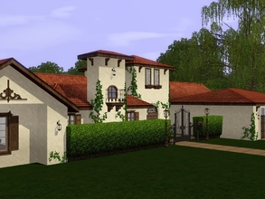 Sims 3 — Luxury Abroad 1.0 by languagelover182 — Luxury Abroad 1.0 is a one-story luxury estate inspired by the many