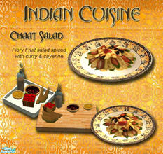 Sims 2 — Indian Cuisine - Fiery Fruit Salad by Simaddict99 — Delicious fresh fruits with a fiery cayenne and curry kick.