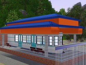 Sims 3 — Subway Station by chuvadeprata2 — To walk in the world isn't easy, with the new Subway Station, the Sims will