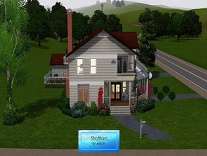 Sims 3 — Stratford House by Anju_N — Fully furnished, three bedrooms, two bathrooms - House inspired by the movie 10