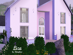 Sims 3 — Liza by BunnyHops — Up for a really Girly Home? Meet Liza! Featuring one bedroom and one bathroom, and