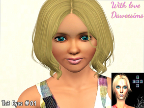Sims 3 — Ts3 Eyes #01  by Daweesims — My first eyes to sims 3! Not perfect but I hope like it! Dont' forget to see my