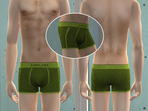 Sims 2 — Cavalera Underwear - Green by CerseiL2 — They also can be used as Pj\'s. I hope you like it.