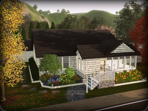 Sims 3 — The Selby -- 3BA, 1BA by sweetpoyzin2 — This lovely home is a bit odd...or does it have character? Right now it