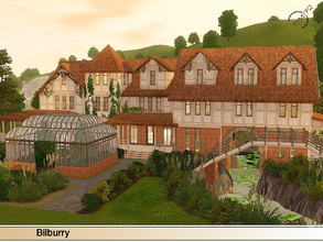 Sims 3 — Bilburry  by timi722 — This Mansion is for a medium or big family. The story of the house: Edward Bilburry had