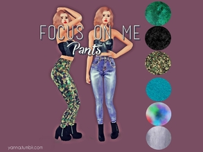 Sims 3 — Yannna's Focus On Me Pants by Yannna — Mesh by Sk-sims. I hope you like it. Available for YA-A Female.