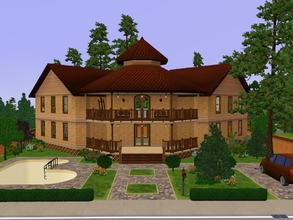 Sims 3 — Felder's Family Simple House by KaMiojo_ — A simple home for a small family, built with a modern and simple