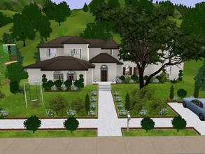 Sims 3 — Californian Inspired Family House by KaMiojo_ — A house inspired on the Californian style. It has four