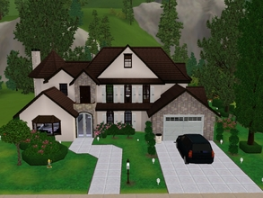 Sims 3 — American Inspired Small House by KaMiojo_ — This house was inspired on American style. It is a bit small