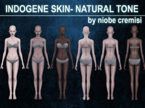 Sims 3 — Indogene Skin N.D by niobe cremsi by niobe_cremisi — Indogene Skin by niobe cremsi: -Skin non default -natural,