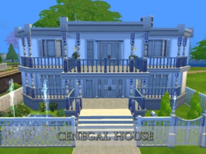 Sims 4 — CenegalHouse by HarmonizerSim — This home is perfect for that a couple who want to live a good life!