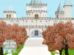 Sims 3 — White Queen Kingston by whitequeen13 — Castle classically furnished having 2 bedrooms, one for girls, 2
