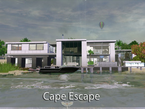 Sims 3 — Cape Escape by fredbrenny — Cape Escape is the result of a request. I love doing requests. The request was to