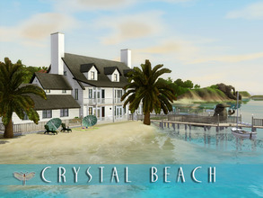 Sims 3 — Crystal Beach by fredbrenny — Beautiful family beach house on the largest plot of land there is! A traditional,