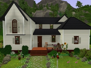 Sims 3 —  by KaMiojo_ — This old house is simple, but not poor, it has 2 floors; 3 bedrooms, 1 bathrooms, dining room,