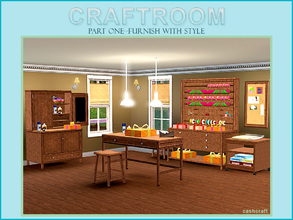 Sims 3 — Craftroom Part One by Cashcraft — With the holidays just around the corner, it will soon be time for gift buying