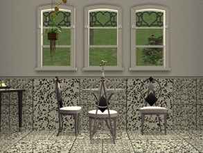 Sims 2 — TS2-Stone Tiles by allison731 — Set with 2 floors and 2 walls with stone tiles. Find in tile(walls) and