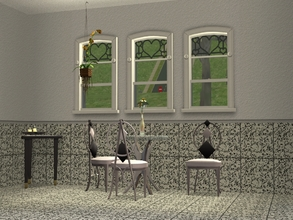 Sims 2 — TS2-Stone Tiles - Smaller Stone Tile Wall by allison731 — Category: Tile Cost: 5