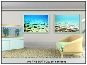 Sims 3 — On the Bottom_marcorse by marcorse — Two views of the ocean floor in one file.