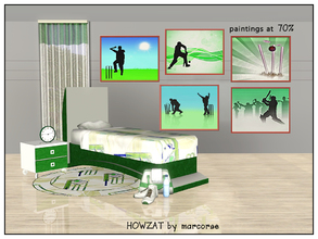Sims 3 — Howzat_marcorse by marcorse — Howzat? That's the hopeful cry [to the umpire] that rings out over playing fields