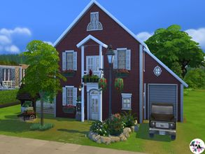 Sims 4 — L'Ancienne (NoCC)  by CrazyError — To spend his holidays with papi and granny, everyone knew this not? I propose