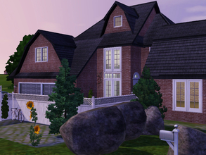 Sims 3 — Classic Hamptons v2 by Daniela_Costa — This beautiful house is inspired in the hamptons style. It has one garage