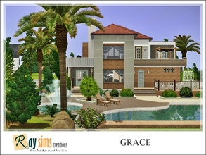 Sims 3 — Grace by Ray_Sims — New a cozy house for you! This house has two levels building, 3 bedrooms, and 2 bathrooms. I