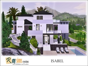 Sims 3 — Isabel by Ray_Sims — New a cozy house for you! I rebuild a cabin house in sunset valley and now I have a new
