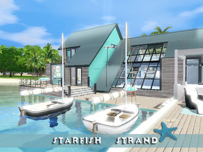 Sims 3 — Starfish Strand by fredbrenny — The perfect place for a honeymoon! The best place to relax and live the easy