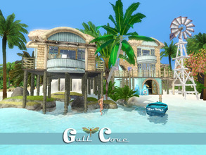 Sims 3 — Gull Cove by fredbrenny — Buy me a ticket to the Tropics and I will choose this lot to stay and never leave!