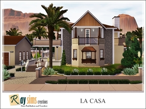 Sims 3 — La Casa by Ray_Sims — New a cozy house for you! This house has two levels building, 4 bedrooms, and 2 bathrooms.