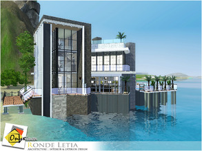 Sims 3 — Ronde Letia by Onyxium — On the first floor: Living Room | Dining Room | Kitchen | Bathroom | Marina On the
