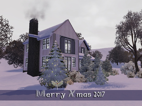 Sims 3 — Freddies Christmas 2017 by fredbrenny — Today I bring you Freddie's Christmas Lot 2017. I would have liked to