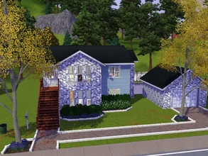 Sims 3 — Sugarberry home by emilyw1 — This is a unique family home. I personally LOVE this house. It is a 3 bedroom, 2