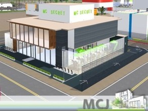 Sims 3 —  Mc Secret | VillaCity by ritamartins18 — MC Secret with 2 floors, kitchens, dining rooms, bathrooms, terraces,