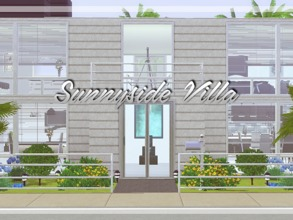 Sims 3 — Sunnyside Villa by artepella — Here is modern house on beach. Built in Sunset Valley. It has 2 floors. In ground